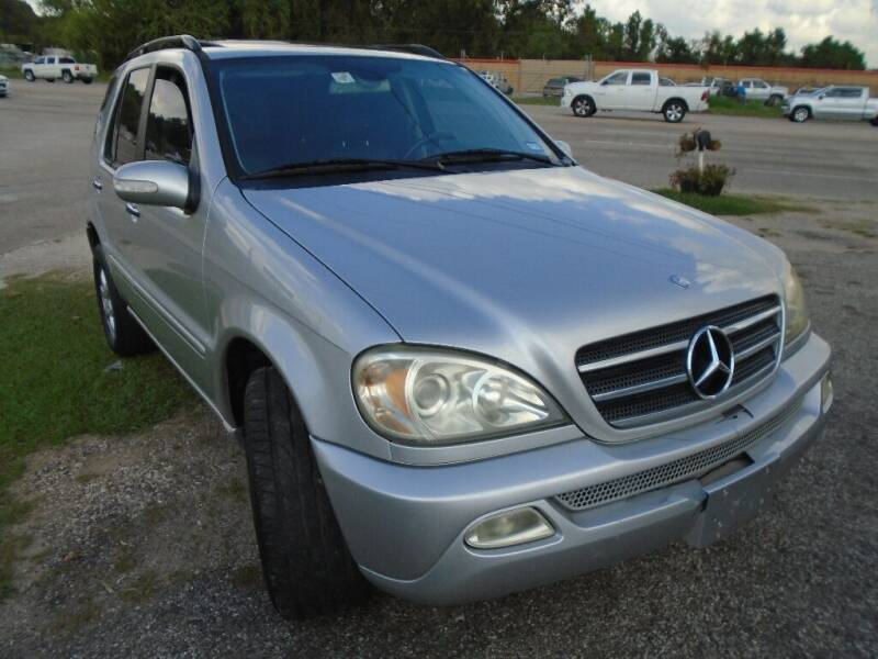 2003 Mercedes-Benz M-Class for sale at SCOTT HARRISON MOTOR CO in Houston TX