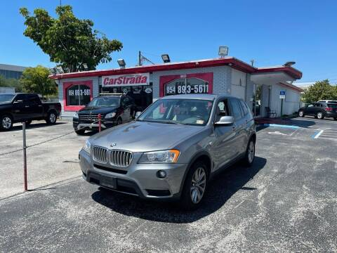 2013 BMW X3 for sale at CARSTRADA in Hollywood FL