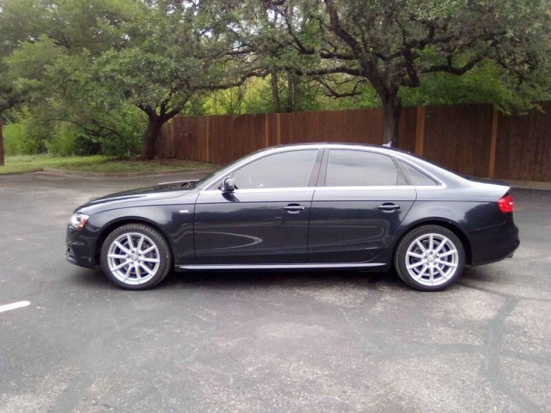 2014 Audi A4 for sale in San Antonio, TX
