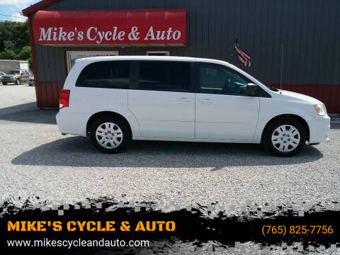 2015 Dodge Grand Caravan for sale at MIKE'S CYCLE & AUTO in Connersville IN