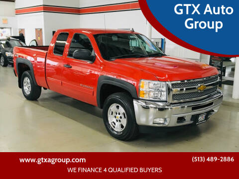 2012 Chevrolet Silverado 1500 for sale at GTX Auto Group in West Chester OH