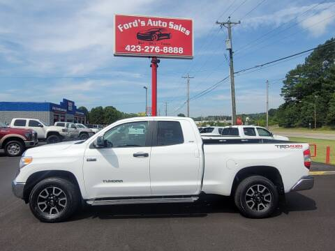 2016 Toyota Tundra for sale at Ford's Auto Sales in Kingsport TN