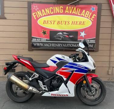 2015 Honda CBR300R for sale at McHenry Auto Mart in Turlock CA