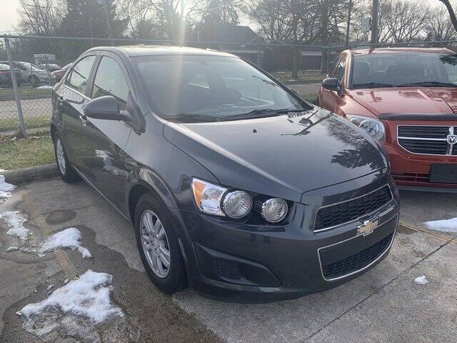 2016 Chevrolet Sonic for sale at Martell Auto Sales Inc in Warren MI