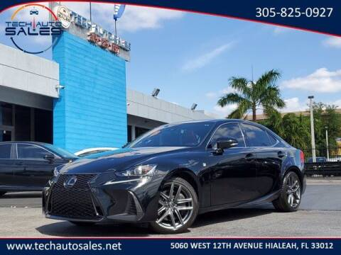 2018 Lexus IS 300 for sale at Tech Auto Sales in Hialeah FL