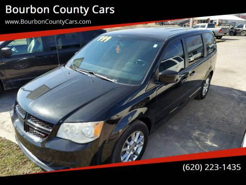 2012 Dodge Grand Caravan for sale at Bourbon County Cars in Fort Scott KS