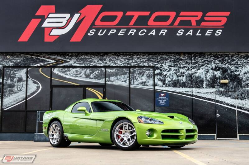 2008 Dodge Viper for sale at BJ Motors in Tomball TX