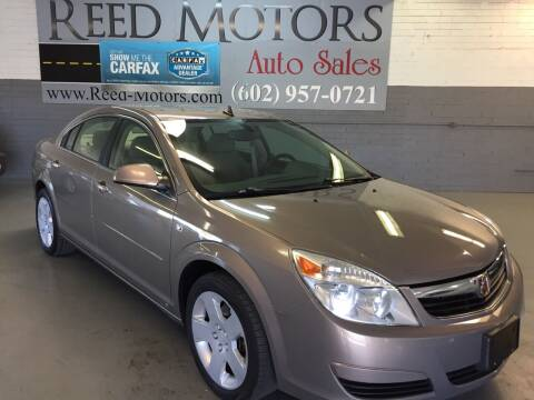 2008 Saturn Aura for sale at REED MOTORS LLC in Phoenix AZ