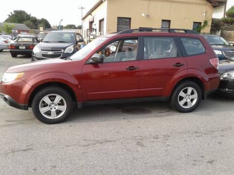 2011 Subaru Forester for sale at Nelsons Auto Specialists in New Bedford MA