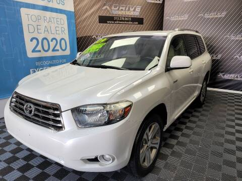 2009 Toyota Highlander for sale at X Drive Auto Sales Inc. in Dearborn Heights MI