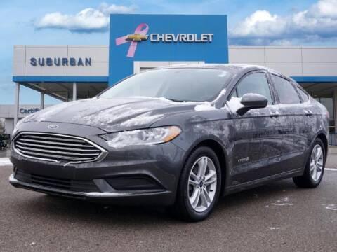 2018 Ford Fusion Hybrid for sale at Suburban Chevrolet of Ann Arbor in Ann Arbor MI