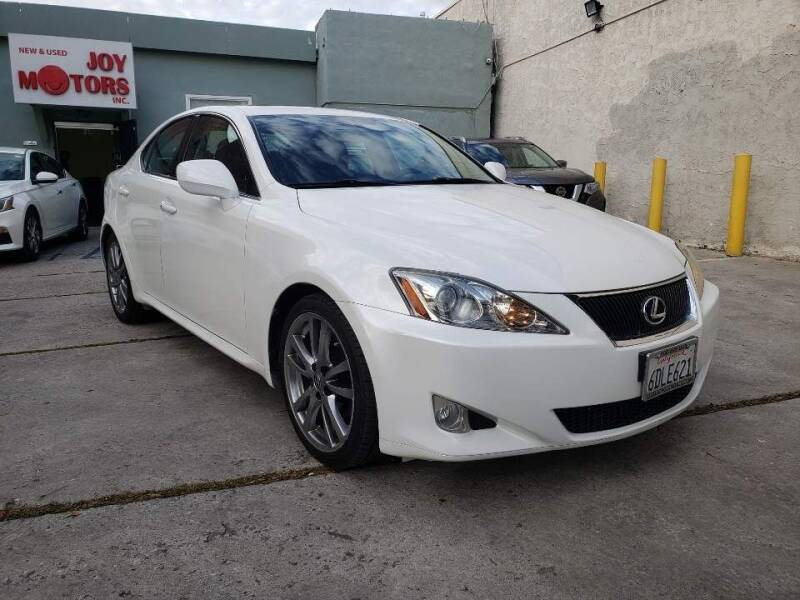 2008 Lexus IS 250 for sale at Joy Motors in Los Angeles CA