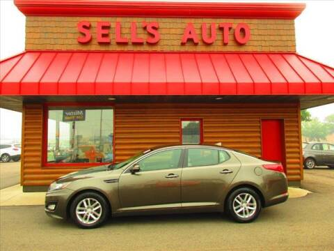 2013 Kia Optima for sale at Sells Auto INC in Saint Cloud MN