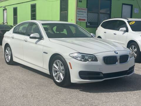 2014 BMW 5 Series for sale at Marvin Motors in Kissimmee FL
