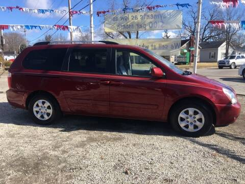 2010 Kia Sedona for sale at Antique Motors in Plymouth IN