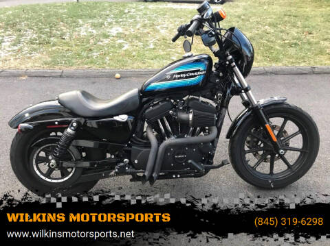 2018 Harley-Davidson Sportster Iron 1200 for sale at WILKINS MOTORSPORTS in Brewster NY