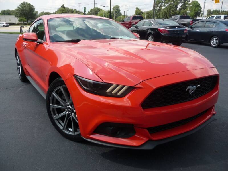 2015 Ford Mustang for sale at Wade Hampton Auto Mart in Greer SC