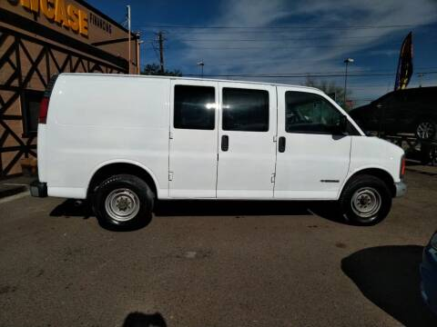 2002 Chevrolet Express Cargo for sale at Used Car Showcase in Phoenix AZ