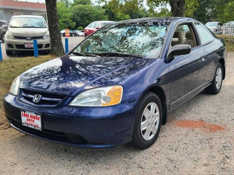 2003 Honda Civic for sale at Lake Ridge Auto Sales in Woodbridge VA