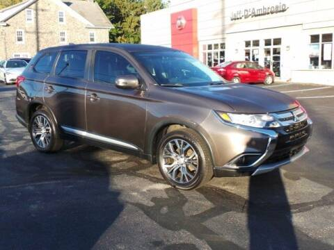 2017 Mitsubishi Outlander for sale at Jeff D'Ambrosio Auto Group in Downingtown PA