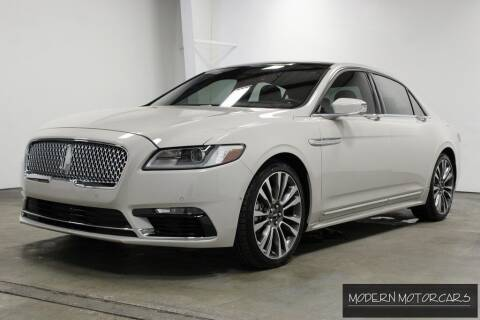 2019 Lincoln Continental for sale at Modern Motorcars in Nixa MO