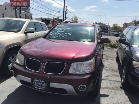 2007 Pontiac Torrent for sale at Chambers Auto Sales LLC in Trenton NJ