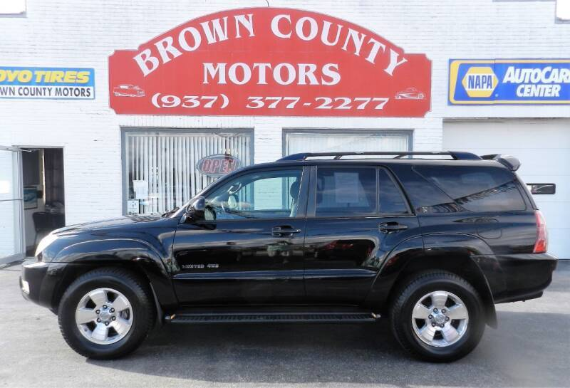 2005 Toyota 4Runner for sale at Brown County Motors in Russellville OH