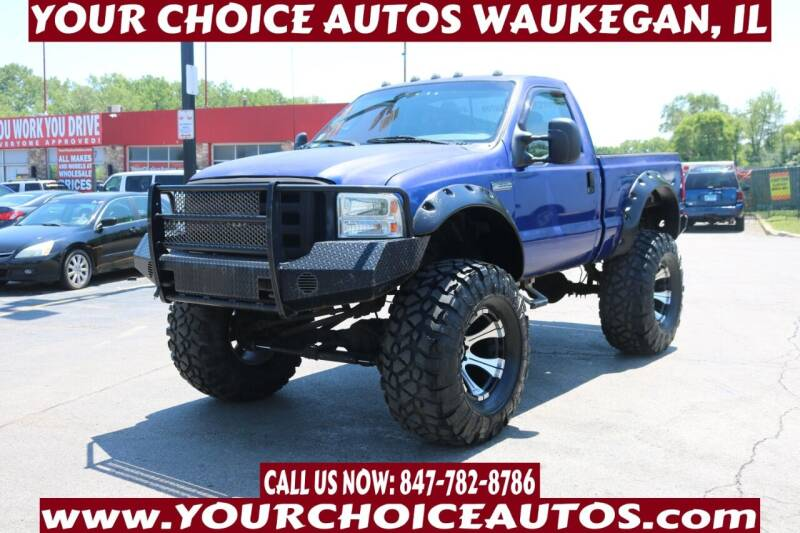 2006 Ford F-350 Super Duty for sale at Your Choice Autos - Waukegan in Waukegan IL