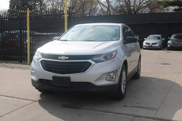 2019 Chevrolet Equinox for sale at F & M AUTO SALES in Detroit MI