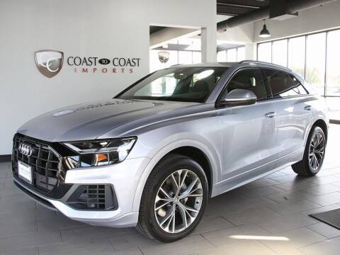 2020 Audi Q8 for sale at Coast to Coast Imports in Fishers IN