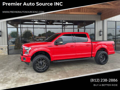 2016 Ford F-150 for sale at Premier Auto Source INC in Terre Haute IN