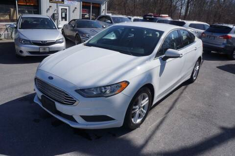 2018 Ford Fusion for sale at Autos By Joseph Inc in Highland NY