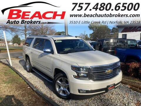 2015 Chevrolet Suburban for sale at Beach Auto Brokers in Norfolk VA