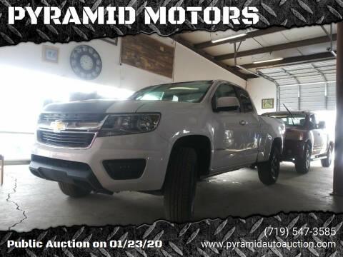 2015 Chevrolet Colorado for sale at PYRAMID MOTORS - Pueblo Lot in Pueblo CO