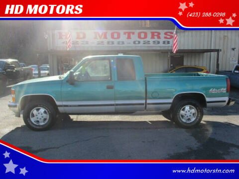 1994 Chevrolet C/K 1500 Series for sale at HD MOTORS in Kingsport TN