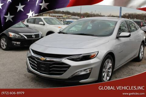 2019 Chevrolet Malibu for sale at Global Vehicles,Inc in Irving TX