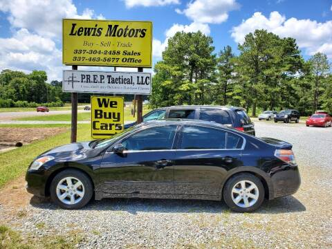 2009 Nissan Altima for sale at Lewis Motors LLC in Deridder LA