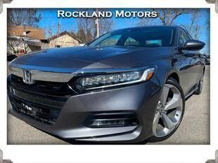 2018 Honda Accord for sale at Rockland Automall - Rockland Motors in West Nyack NY