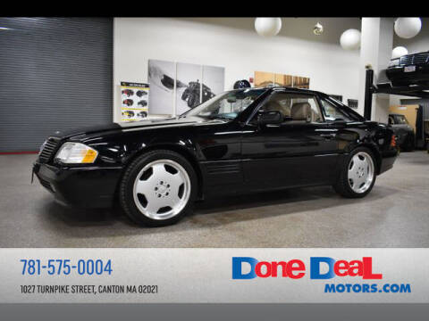 1995 Mercedes-Benz SL-Class for sale at DONE DEAL MOTORS in Canton MA