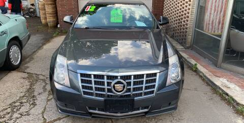 2012 Cadillac CTS for sale at Frank's Garage in Linden NJ