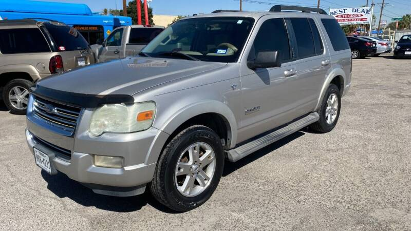 2007 Ford Explorer for sale at BARRIO MOTORS in El Paso TX