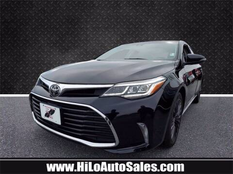 2018 Toyota Avalon for sale at Hi-Lo Auto Sales in Frederick MD