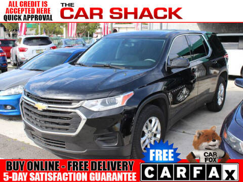 2018 Chevrolet Traverse for sale at The Car Shack in Hialeah FL