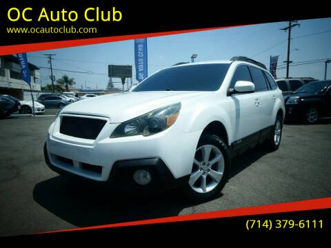 2013 Subaru Outback for sale at OC Auto Club in Midway City CA