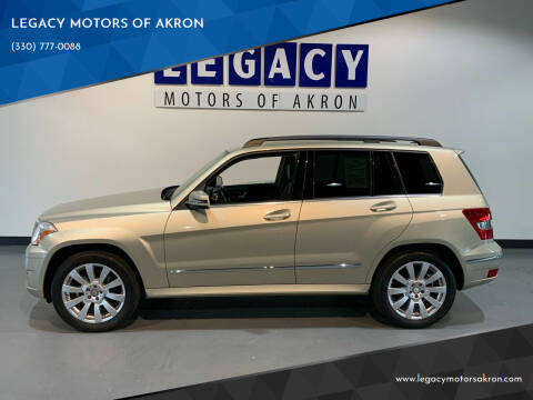 2012 Mercedes-Benz GLK for sale at LEGACY MOTORS OF AKRON in Akron OH