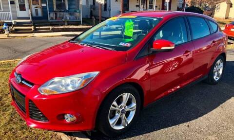 2012 Ford Focus for sale at Mayer Motors of Pennsburg - Green Lane in Green Lane PA