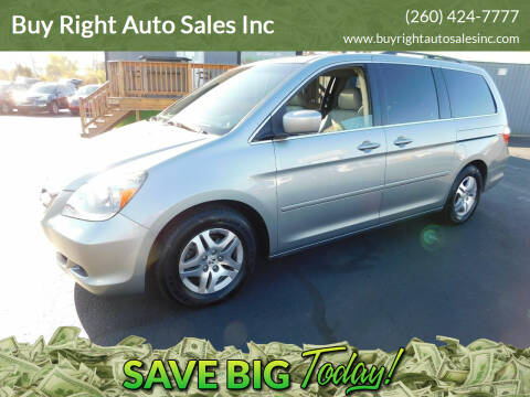 2005 Honda Odyssey for sale at Buy Right Auto Sales Inc in Fort Wayne IN