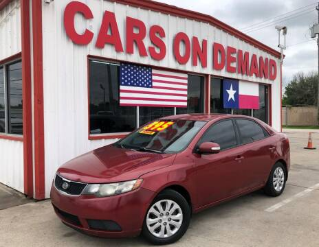 2010 Kia Forte for sale at Cars On Demand 2 in Pasadena TX