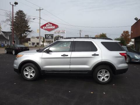 2012 Ford Explorer for sale at The Auto Exchange in Stevens Point WI