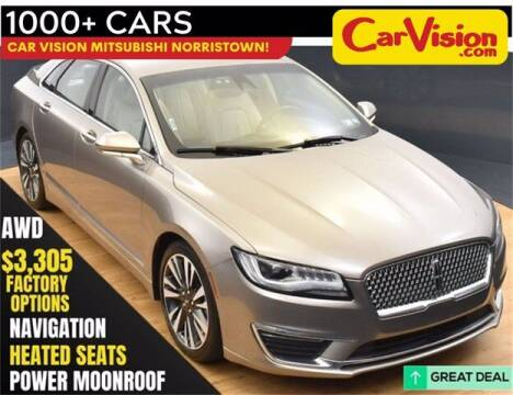 2018 Lincoln MKZ for sale at Car Vision Buying Center in Norristown PA
